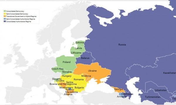 България – 8-а по демокрация в бившия соцлагер