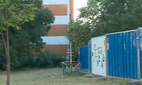 Застрояват поредна площадка, частна собственост е!