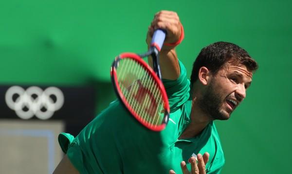 Григор Димитров скоростно се изнесе от Рио
