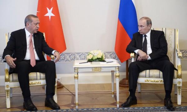 Путин и Ердоган - обединени в борбата с тероризма