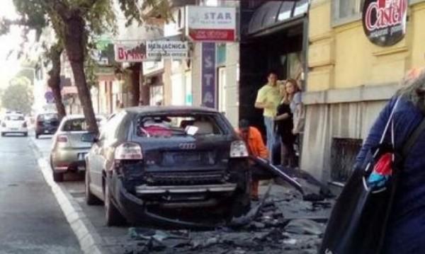Взрив в Ниш, трима пострадаха тежко