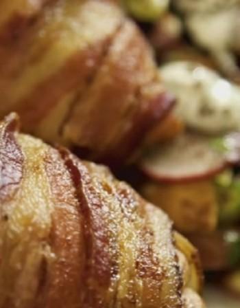 Рецептата Dnes: Пиле в бекон със сирене
