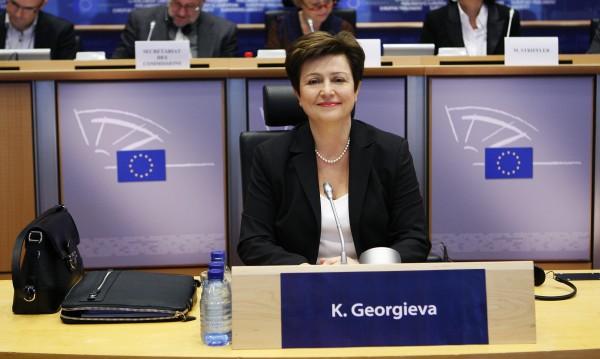 Еврокомисията: Кристалина – талантлива и с опит