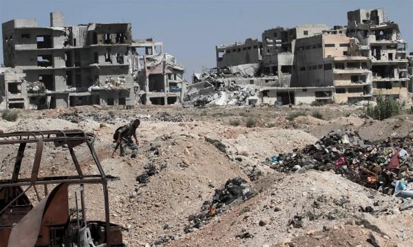 Бойни самолети удариха Алепо за първи път след примирието