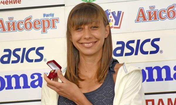 Мирела Демирева получи наградата си за спортист №1