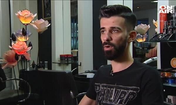 Моатаз – младият фризьор със семейство и кариера у нас