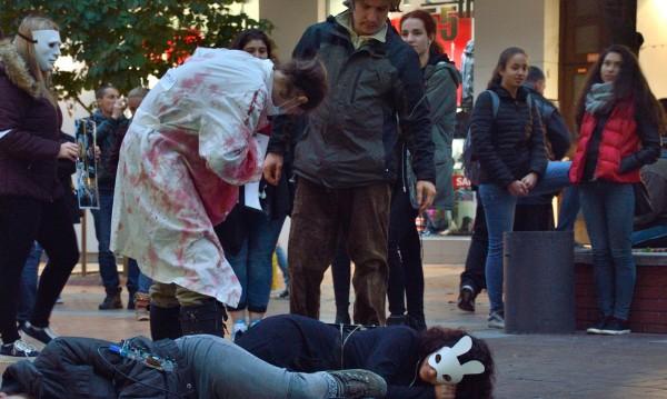 """Свински геноцид"" – вегани страдат за прасетата"