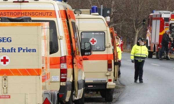Верижна катастрофа взе шест жертви в Германия