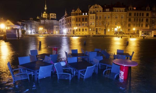 Бури причиниха големи наводнения в Германия