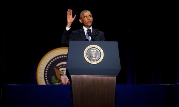 Обама на изпроводяк: Демокрацията ни не е даденост!