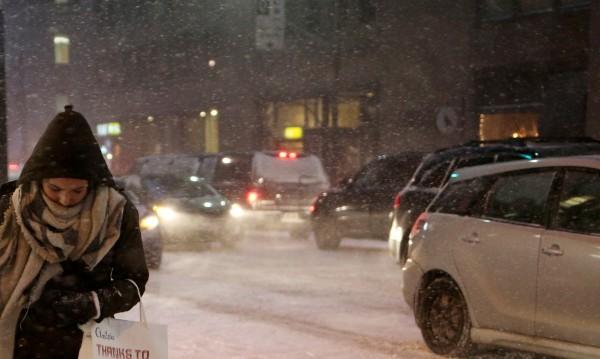 Снежни виелици бушуваха в Северна Франция и Белгия