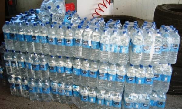 Нелегална ракия като минерална вода – 600 литра