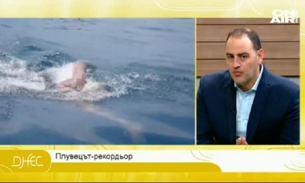 Петър Стойчев за бъдещите му ледени предизвикателства