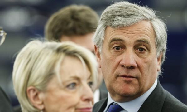 Антонио Таяни е новият шеф на Европейския парламент