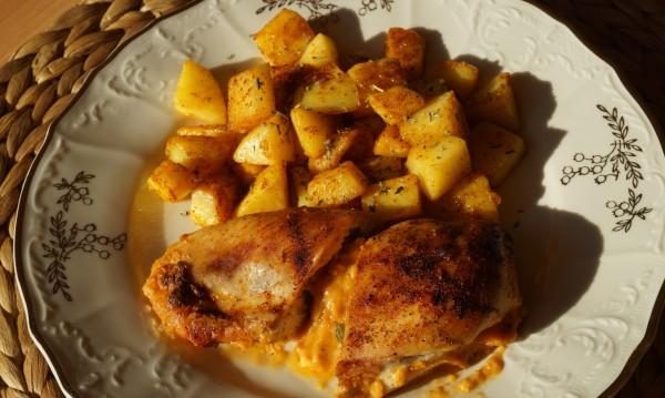 Рецептата Dnes: Пилешки ролца с топено сирене и розе