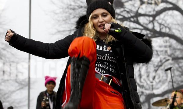 Мадона не искала взривяване на Белия дом, било метафора