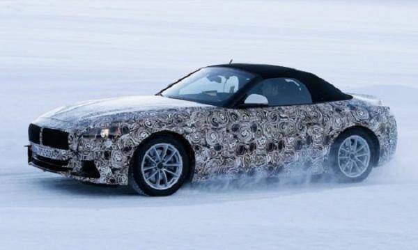 Папараци щракнаха BMW Z4, с текстилен покрив е!