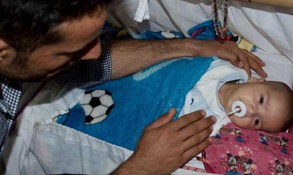 Някъде из Иракски Кюрдистан... Бебе Тръмп расте с надежда