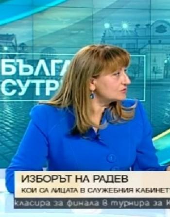 Шулева за премиера Герджиков: Отличен избор!