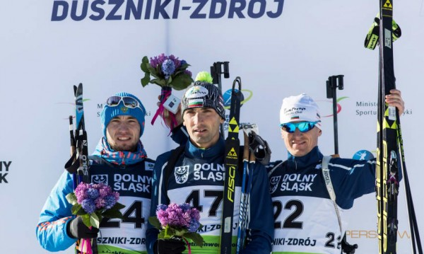 Триумф в биатлона! Владимир Илиев е европейски шампион!