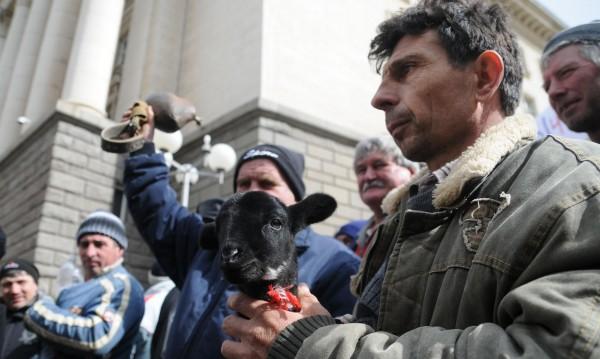 Фермерите с нов протест в София