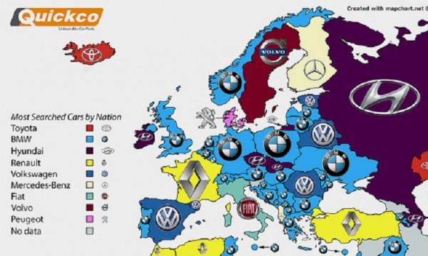 Най-търсената кола за българина – BMW. За балканеца – също!