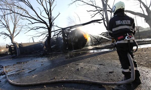 Локомотивът на влака убиец в Хитрино вече е в София