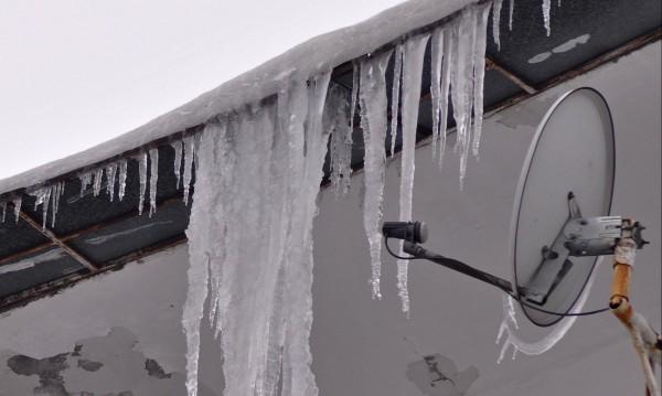 Само за месец: 400 глоби заради лед и висулки в София