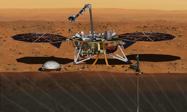 Активните вулкани на Марс отпреди два милиарда години
