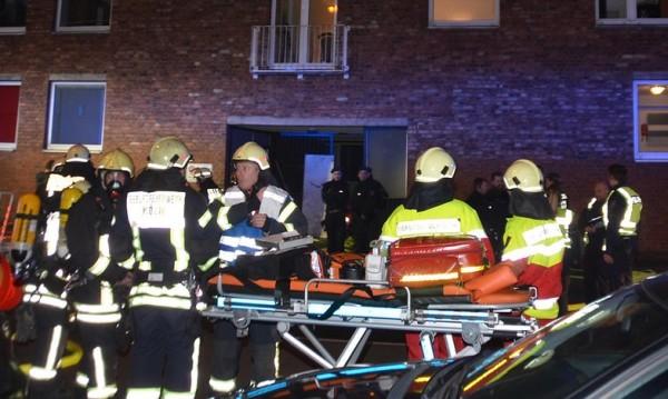 Газови бутилки се взривиха в Кьолн, двама ранени