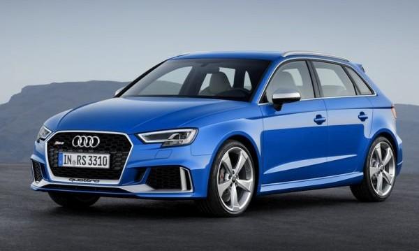Audi представи най-мощния си хечбек – RS3