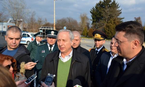 На границата с Гърция е спокойно, отчете Герджиков
