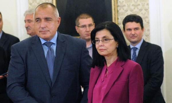 Бойко Борисов за министър Кунева: Това беше голяма грешка...