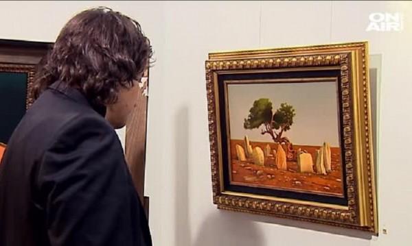 От скици на бандити до живопис – изкуството на бивш полицай
