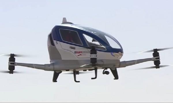 Летящи таксита на автопилот из Дубай