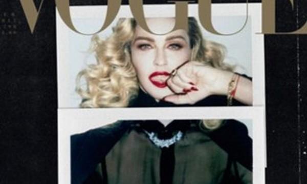Мадона възраст не я притеснява, показа гръд за Vogue