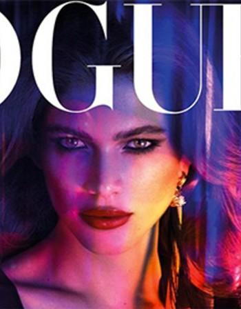 Трансджендър модел се кипри на корицата на Vogue