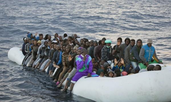 13 000 мигранти влезли в Европа по море от януари