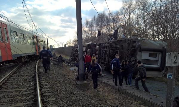 Българин е оцелял след влаковата катастрофа в Льовен