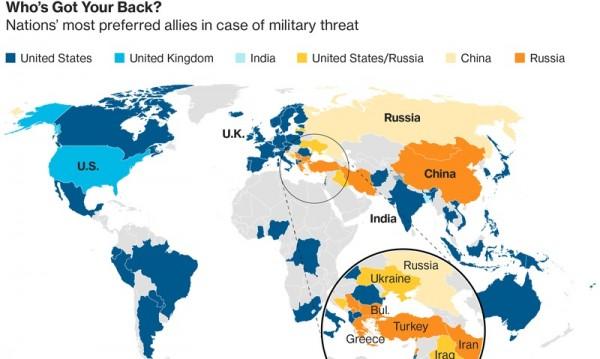 Четири НАТО-вски страни предпочитат Русия, България сред тях