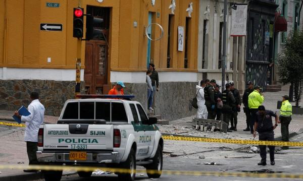 Един загинал при взрив в колумбийската столица