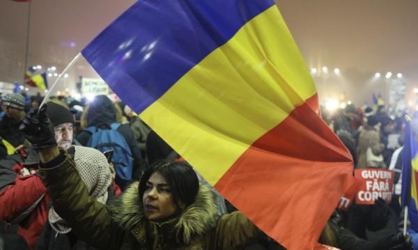 Хиляди румънци пак на протест срещу правителството