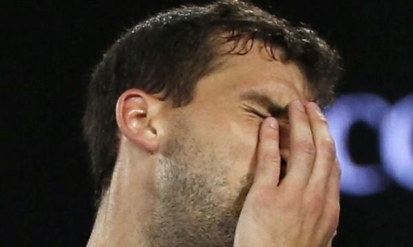 Григор Димитров падна с едно място в ранглистата