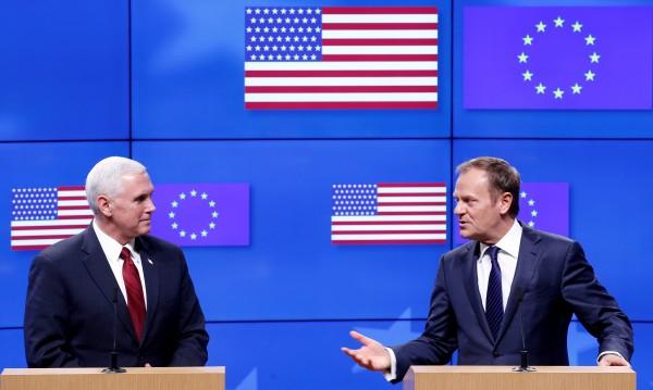 Гаф със звезди: Грешно знаме за САЩ в Белгия