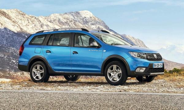 Logan MCV на Dacia става кросоувър, към името добавят Stepway