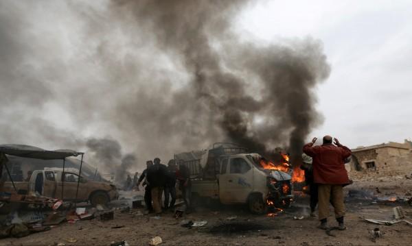 Десетки загинали при самоубийствен атентат близо до Ал Баб, Сирия
