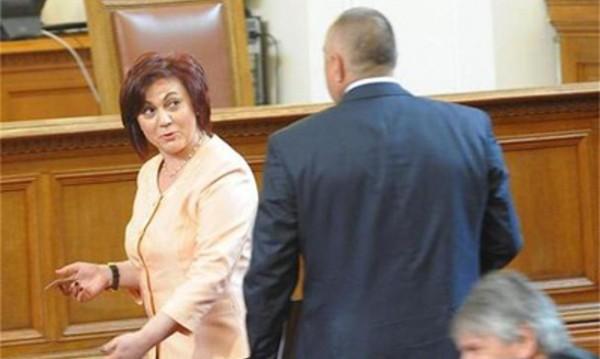 Борисов не ще дебат с жени. Нинова: Да се разберем като мъже!