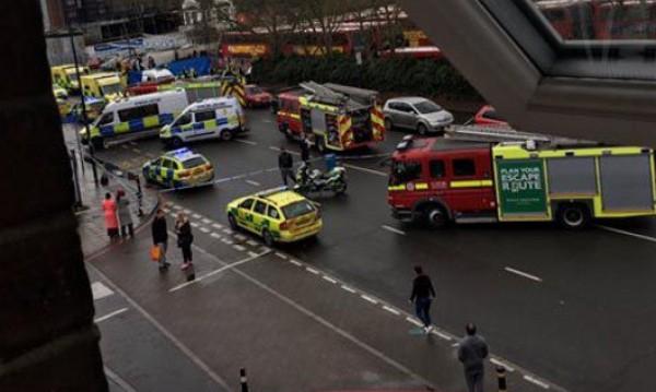 Пиян помел петимата пешеходци в Лондон