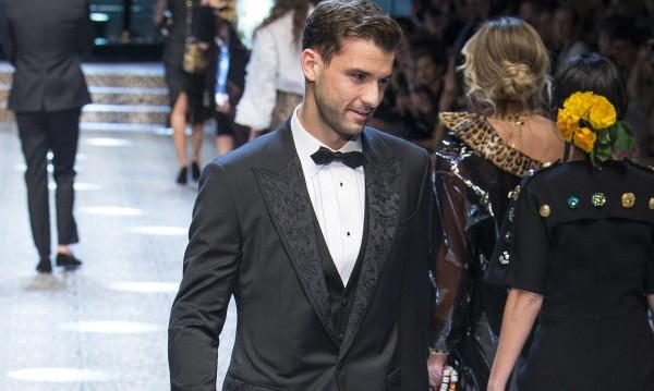 Григор Димитров се появи като модел за Dolce & Gabbana