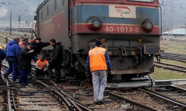 Влак помете жена на  жп линията Перник-София